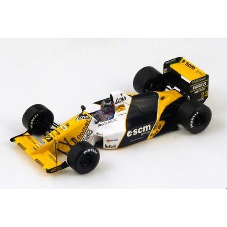 Minardi M189 F1 Japon 1989 Paolo Barilla Spark S4112