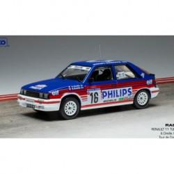Renault 11 Turbo 16 Rallye Tour de Corse 1987 A. Oreille - S. Oreille IXO RAC312