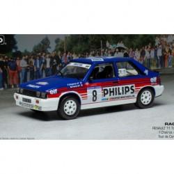 Renault 11 Turbo 8 Rallye Tour de Corse 1987 F. Chatriot - M. Perin IXO RAC311