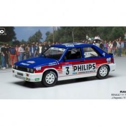 Renault 11 Turbo 3 Rallye Tour de Corse 1987 Ragnotti - Thimonier IXO RAC310