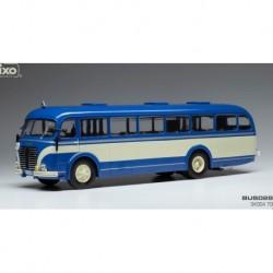 Skoda 706 RO 1947 Blue White IXO BUS028
