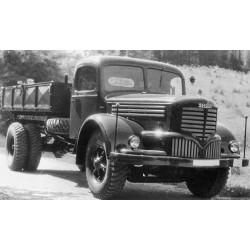 Skoda 706 RS 1946 Dark Red Black IXO PCL47128