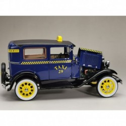 Ford Model A Tudor Taxi 1931 Blue Sunstar SUN6107