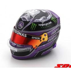 Casque Helmet 1/5 Lewis Hamilton Mercedes F1 Turquie World Champion 2020 Spark S5HF053