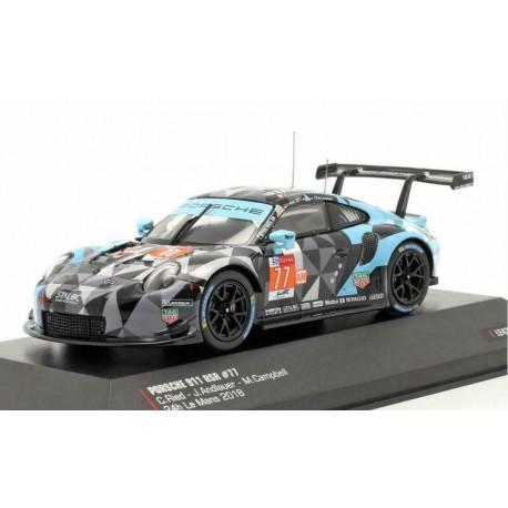 Porsche 911 RSR 77 24 Heures du Mans 2018 IXO LE43024