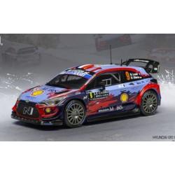 Hyundai i20 Coupe WRC 9 Rallye Monte Carlo 2020 Loeb Elena IXO RAM744