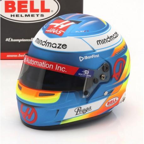 Casque Helmet 1/2 Romain Grosjean F1 2020 Bell 4100051