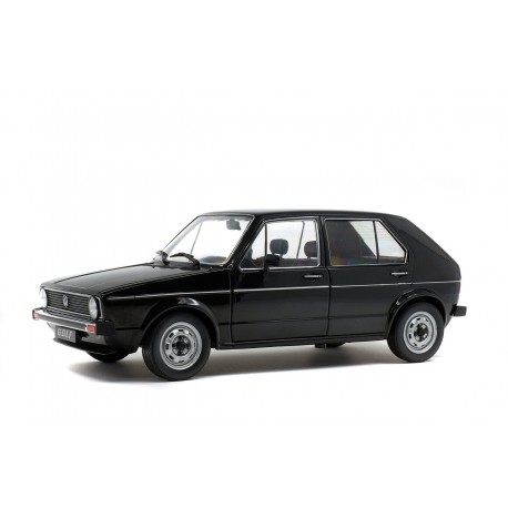 Volkswagen Golf L 1983 Black Solido S1800209