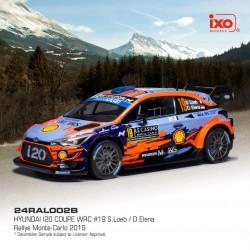 Hyundai i20 WRC 19 Rallye Monte Carlo 2019 Loeb - Elena IXO 24RAL002B