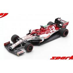 Alfa Romeo Sauber Ferrari C39 7 F1 Grand Prix d'Emilie Romagne 2020 Kimi Raikkonen Spark S6494