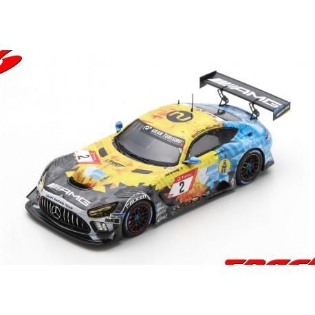 Mercedes AMG GT3 2 24 Heures du Nurburgring 2020 9ème Spark SG688