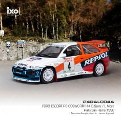 Ford Escort RS 4 Rallye de San Remo 1996 Sainz Moya IXO 24RAL004A