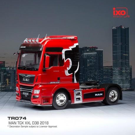 MAN TGX XXL D38 Lion Pro Edition Red IXO TR074