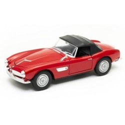BMW 507 cabrio capote fermée Red Welly WEL24097H.RED