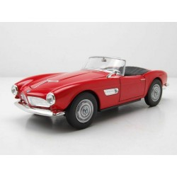 BMW 507 cabrio capote ouverte Red Welly WEL24097C.RED