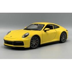 Porsche 911 Carrera 4S Yellow Welly WEL24099WYELLOW