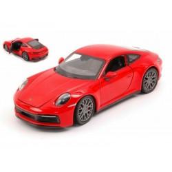 Porsche 911 Carrera 4S Red Welly WEL24099W.RED