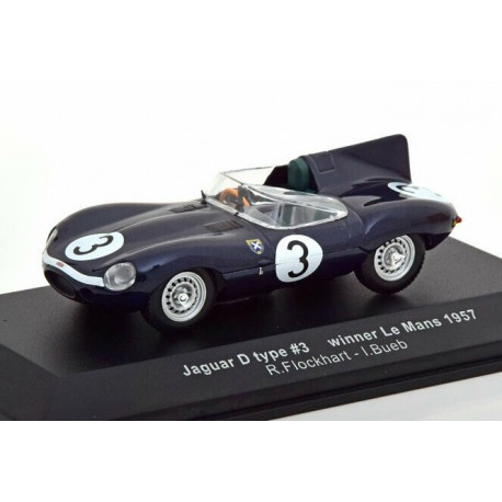Jaguar Type D 3 Winner 24 Heures du Mans 1957 IXO LM1957