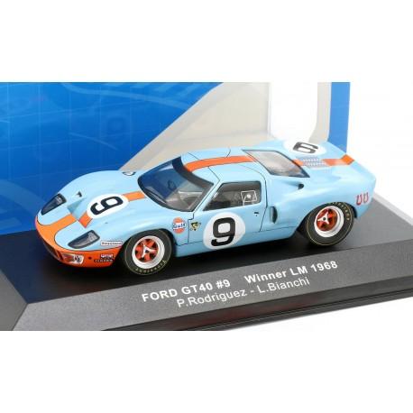 Ford GT40 9 Winner 24 Heures du Mans 1968 IXO LM1968