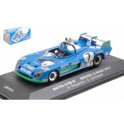 Matra 670B 7 Winner 24 Heures du Mans 1974 IXO LM1974