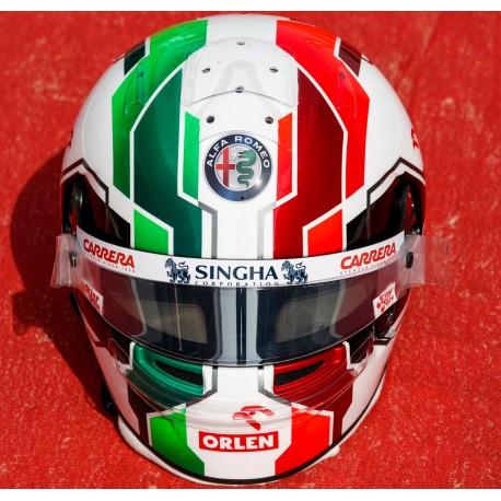 Casque Helmet 1/2 Antonio Giovinazzi F1 2021 Bell