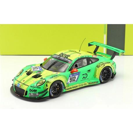 Porsche 911 GT3R 912 Winner 24 Heures du Nurburgring 2018 IXO MG-I-911-18-1812-24H