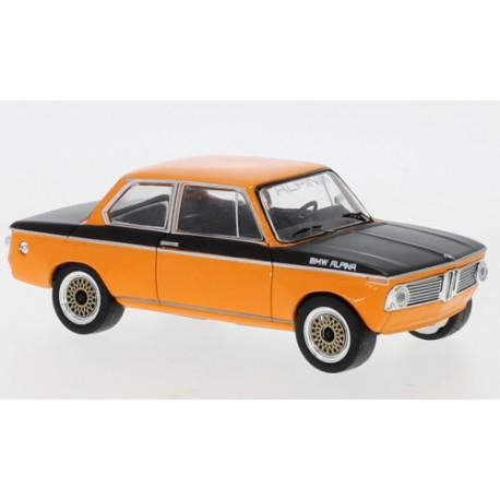 BMW Alpina 2002 Tii 1972 Orange Black IXO CLC368N