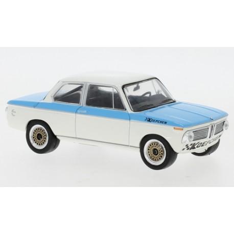 BMW Koepchen 2002 Tii 1974 White Blue IXO CLC369N