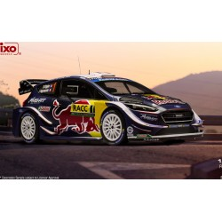 Ford Fiesta WRC 1 Rallye de Catalogne 2018 Ogier Ingrassia IXO 18RMC042A