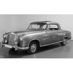 Mercedes 220 SE Coupe W128 1958 Metallic Light Blue Sunstar SUN3592
