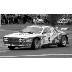 Lancia 037 Evo 2 4 Rallye d'Ypres 1985 Zanussi - Cresto IXO RAC338