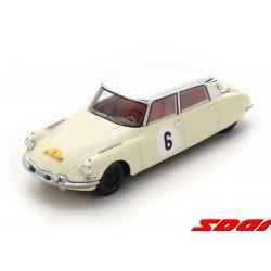 Citroen DS19 6 Winner Rallye des Routes du nord 1963 Bianchi - Ickx Spark SF230