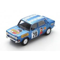 Simca Rallye 28 Course de cote de Saint Antonin 1975 Henri Vuillermoz Spark SF204