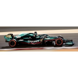 Aston Martin Mercedes AMR21 18 F1 Grand Prix de Bahrain 2021 Lance Stroll Spark 18S587