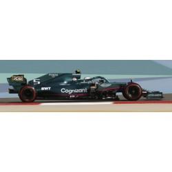 Aston Martin Mercedes AMR21 5 F1 Grand Prix de Bahrain 2021 Sebastian Vettel Spark 18S586