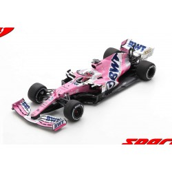 Racing Point Mercedes RP20 11 F1 Winner Sakhir 2020 Sergio Perez avec pitboard Spark 18S564