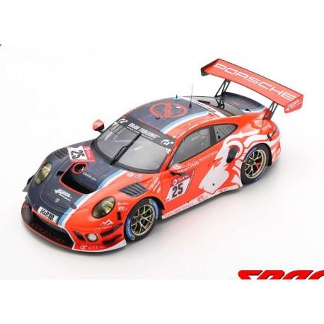 Porsche 911 GT3R 25 24 Heures du Nurburgring 2020 Winner Proam Class Spark 18SG046