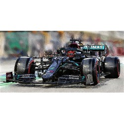 Mercedes F1 W11 EQ Performance 63 F1 Grand Prix de Sakhir 2020 George Russell Minichamps 410201663