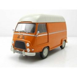 Renault Estaffette Orange et Blanche WhiteBox WB124053