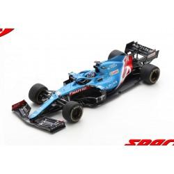 Alpine Renault A521 14 F1 Grand Prix de Bahrain 2021 Fernando Alonso Spark 18S580