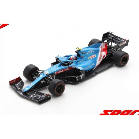 Alpine Renault A521 31 F1 Grand Prix de Bahrain 2021 Esteban Ocon Spark 18S581