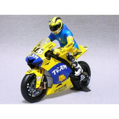 Figurine 1/12 Valentino Rossi Moto GP Sachsenring 2006 Minichamps 312060196