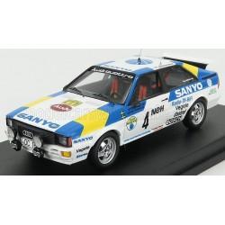 Audi Quattro 4 Rallye de Suède 1982 Blomqvist - Cederberg Trofeu TRORRSE10