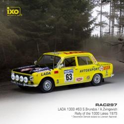 Lada 1300 63 Rallye de Finlande 1975 Brundza Zvingevich IXO RAC297