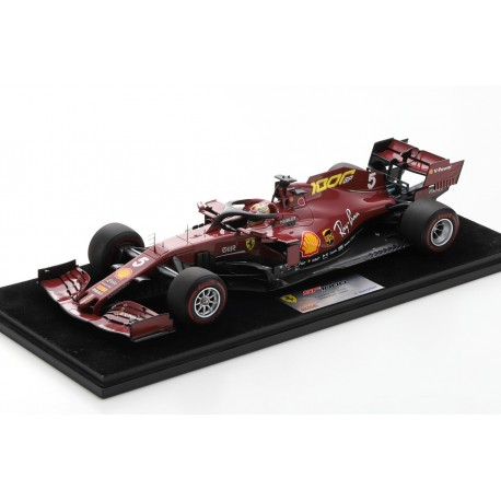 Ferrari SF1000 5 F1 Toscane Mugello 2020 Sebastian Vettel 1000th Ferrari GP Looksmart LS18F1032
