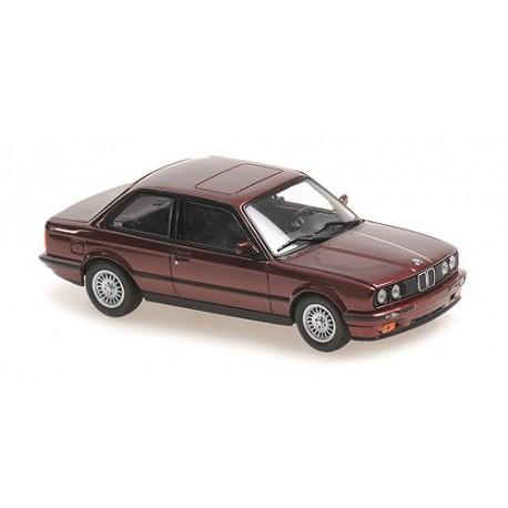 BMW 3-Series (E30) 1989 Red Metallic Maxichamps 940024000