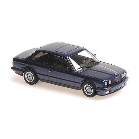 BMW 3-Series (E30) 1989 Blue Metallic Maxichamps 940024001