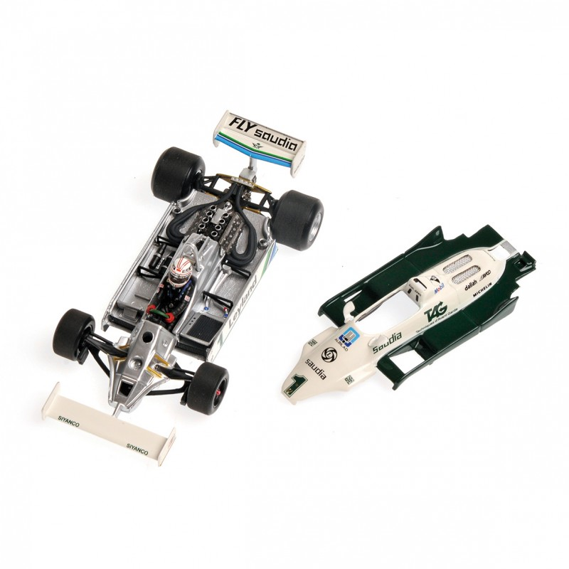 Ford Friends And Family Discount >> Williams Ford FW07C 1981 Alan Jones Minichamps 400810001 - Miniatures Minichamps