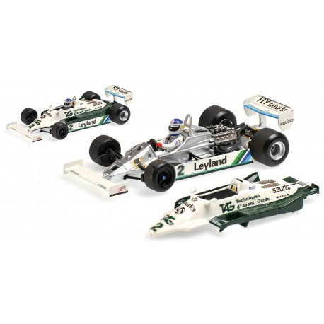Williams Ford FW07C 1981 Carlos Reutemann Minichamps 400810002