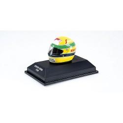 Casque Helmet 1/10 Ayrton Senna F1 1984 Minichamps 540388419